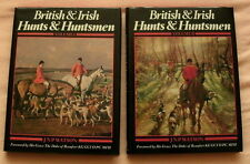 BRITISH & IRISH HUNTS & HUNTSMEN HUNTING BOOK J N P WATSON TWO VOLUMES 1982 1ST