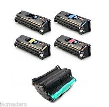 Four Toner + DRUM  for HP Color Laserjet 2550 2820 2840 2500