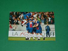 PHOTO CARTE RAI DOMI MAURICE PARIS SAINT-GERMAIN PSG 1997 1998 PARC DES PRINCES