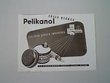 advertising Pubblicità 1941 COLLA PELIKANOL PELIKAN - GUNTHER WAGNER