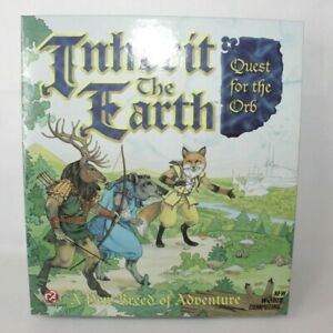 Inherit the Earth Quest for the Orb PC Big Box Game 1994 ** Empty Box Only