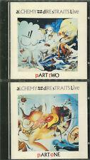 "DIRE STRAITS ""Alchemy - Dire Straits Live"" 2CD-Album (Blue Swirl)"
