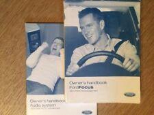 Focus 2004 Car Owner & Operator Manuals