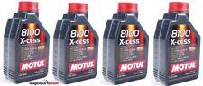 Aceite Motor Motul 8100 X-Cess xcess 5W40, 4 litros (4x 1 lt)