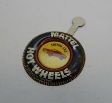 Redline Hotwheels Button Badge Metal Hong Kong Custom AMX R17201