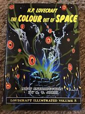 THE COLOUR OUT OF SPACE H.P.Lovecraft, Joshi (intro) 1st PS HC ed fine UK IMPORT