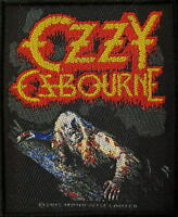 """OZZY OSBOURNE PATCH / AUFNÄHER # 25 """"BARK AT THE MOON"""""""