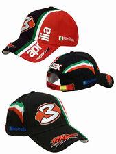 OFFERTA CAPPELLINO CAPPELLO MAX BIAGGI  N 3 APRILIA RSV4  NERO  CAP HAT
