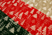 "Polycotton Craft Fabric Holiday/Christmas 45"""""