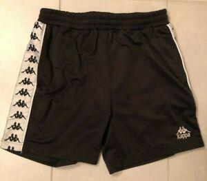 Black Kappa Shorts Men's Size Small (Pacsun)