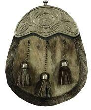 hommes KILT SPORRAN Costume complet habillé Peau De Phoque Cantle celtique