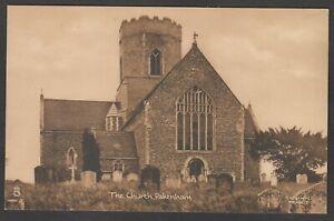 Postcard Pakenham nr Bury St Edmunds Suffolk early view of The Church by Tuck
