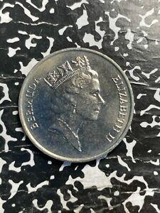 1986 Bermuda 50 Cents Lot#X1950 High Grade! Beautiful!