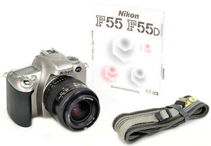 Nikon F55 + Nikon AF NIKKOR 35-70mm 1:3,3-4,5 = TOP & SAUNER & FUNKTIONIERT !!!