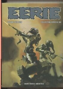 EERIE ARCHIVES VOLUME THIRTEEN HARDCOVER COLLECTING 61 THROUGH 64 WRIGHTSON