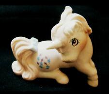 RARE 1st Gen 1985 HASBRO Mini Ceramic My Little Pony SKY FLIER UNICORN FIGURINE