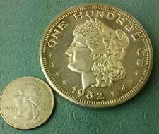 Vintage Rare 1982 Morgan Crabtree mint Paradise .999 - 100 Gram coin Art biggest