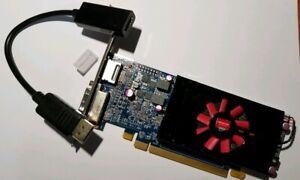 AMD HD 7570 1GB DisplayPort to HDMI Adapter PCIe GDDR5 Windows 10 Video Card