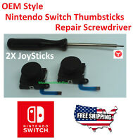 2X OEM Stick Rocker 3D Analog Joystick Thumb Nintendo Switch Joy-Con Controller