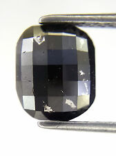 0.95TCW Black Oval Natural Diamond for Special Wedding Ring Gift Low Price