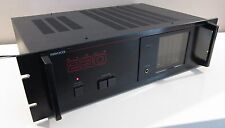 NIKKO STEREO POWER AMPLIFIER 230 DC ALPHA 2 CHANNEL POWER AMP WORKS PERFECT