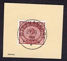 Briefstück Neuguinea Vorläufer MiNr. V 37 o Stephansort 1898 Falsch