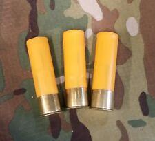 3- 20 gauge snap caps for training drills black gun 3 gun shot slug
