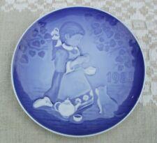 New ListingBing & Grondahl 1985 Barnets Dag, Children's Day plate, 1st edition Denmark