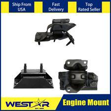 3pcs Auto Trans & Engine Motor Mount Set Fits 2003 FORD E-150 CLUB WAGON