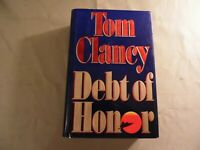 Debt of Honor by Tom Clancy (Hardcover 1994) Free Domestic Shipping