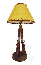 """Western Shotgun 23"""" Table Desk Lamp Light - Gun Lamp Hunter Cowboy Cabin Guns"""