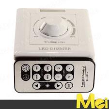 D018 DIMMER REGOLATORE INTENSITA' PER LED 220V MAX 200W ROTELLA E TELECOMANDO