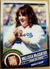 MELISSA MCCARTHY TOPPS FIRST PITCH BASEBALL CARD, RARE! LA DODGERS