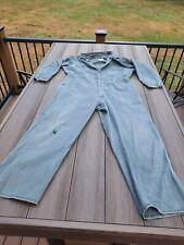 Vintage Lee Union Alls Coveralls Size 40 Short Usa