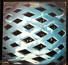 The Who - Tommy 2 LP VG+ DL 75126 1st Pressing Decca 1969 W/ Book Vinyl Stereo