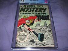 Journey Into Mystery #86 CGC 7.5 WHITE Pages, 4th Thor and 2nd Odin, Early Key