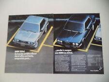 advertising Pubblicità 1986 BMW 324 D - 524 TD