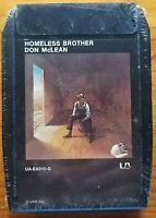 Don McLean Homeless Brother Factory sealed 8-track