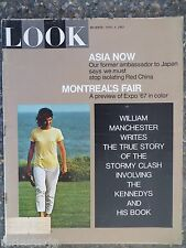 1967 April 4 Look Magazine  Montreal's Expo '67  VINTAGE ADS Jackie Kennedy