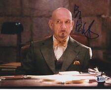 SIR BEN KINGSLEY SIGNED 8X10 PHOTO SHUTTER ISLAND BECKETT BAS AUTOGRAPH AUTO A