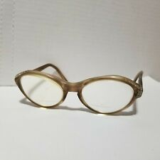 48a9348ab8 Vtg 50s 60s National Aviva Eyeglasses Frames USA Made Rockabilly VLV  Rhinestones