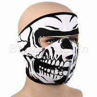 Outdoor Sports Motorcycle Skull Full Face Mouth Mask Facemask Cover Protector