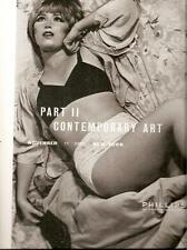 Phillips // Contemporary Art Part II Large Post Auction Catalog 2005