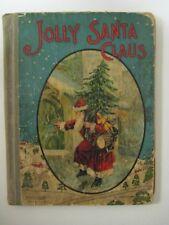 Vintage Antique Victorian JOLLY SANTA CLAUS Series Book M.A. Donohue & Co. #150