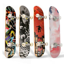 Skateboards for Beginners, Complete Skateboard 31 x 8, 7 Layer Canadian Maple US