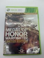 Medal of Honor: Warfighter - Limited Edition (Xbox 360) Both Disc Tested
