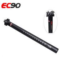 EC90 Full Carbon Fiber MTB Bike Seatpost Road/BMX Bicycle Seat Tube Ultralight