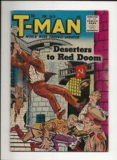 T-MAN #26 1955 QUALITY COMICS GOLDEN AGE WAR SPY ESPIONAGE SOVIET RUSSIA FN