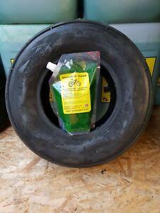16/6.50x8 4ply tyre multi rib + heavy duty tyre sealant