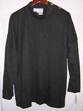 L Rothschild for Lilli Ann Charcoal Gray Sweater - Vintage 80's - With Tags!